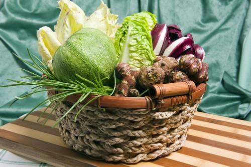 Solata iz pozabljene zelenjave