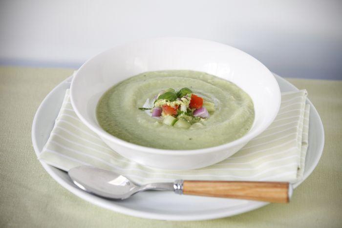 Kumaričina juha s krompirjem