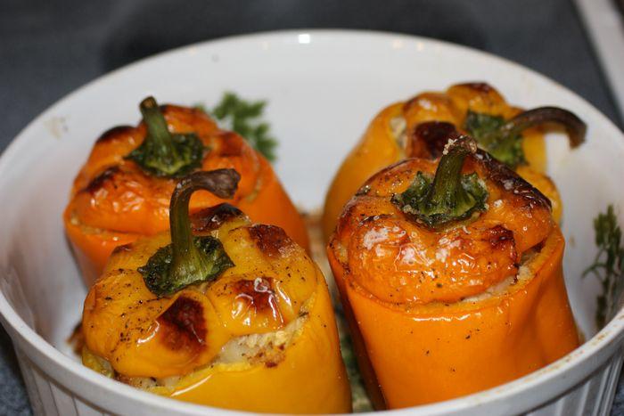 Aromatične paprike z muškatom